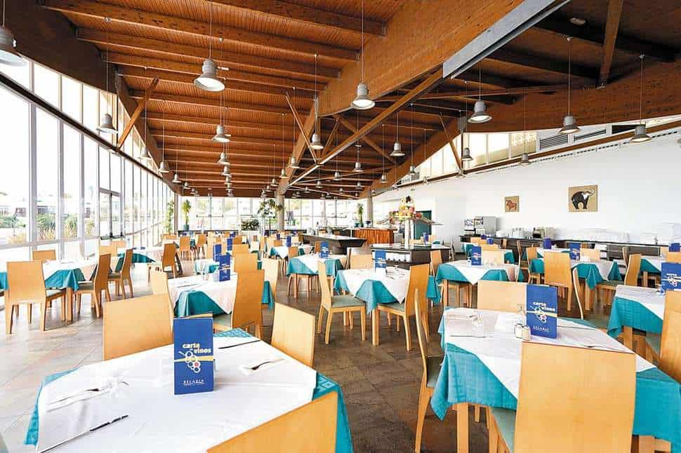 Restaurant van Relaxia Lanzaplaya in Puerto del Carmen, Lanzarote, Spanje