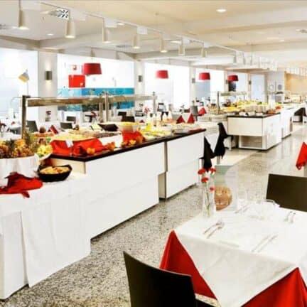 Restaurant van Sentido Aequora Lanzarote in Puerto del Carmen, Lanzarote, Spanje