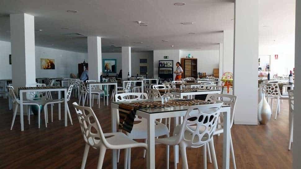 Restaurant van Smartline Lanzarote Palm in Puerto del Carmen, Lanzarote, Spanje