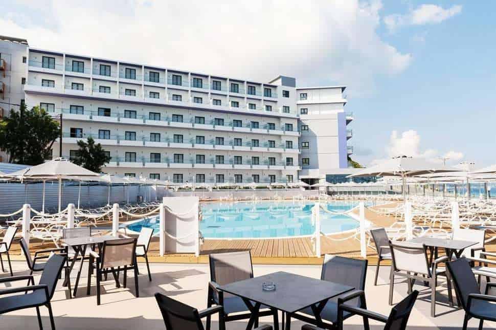 Rhodos Horizon Resort in Rhodos-Stad, Rhodos, Griekenland
