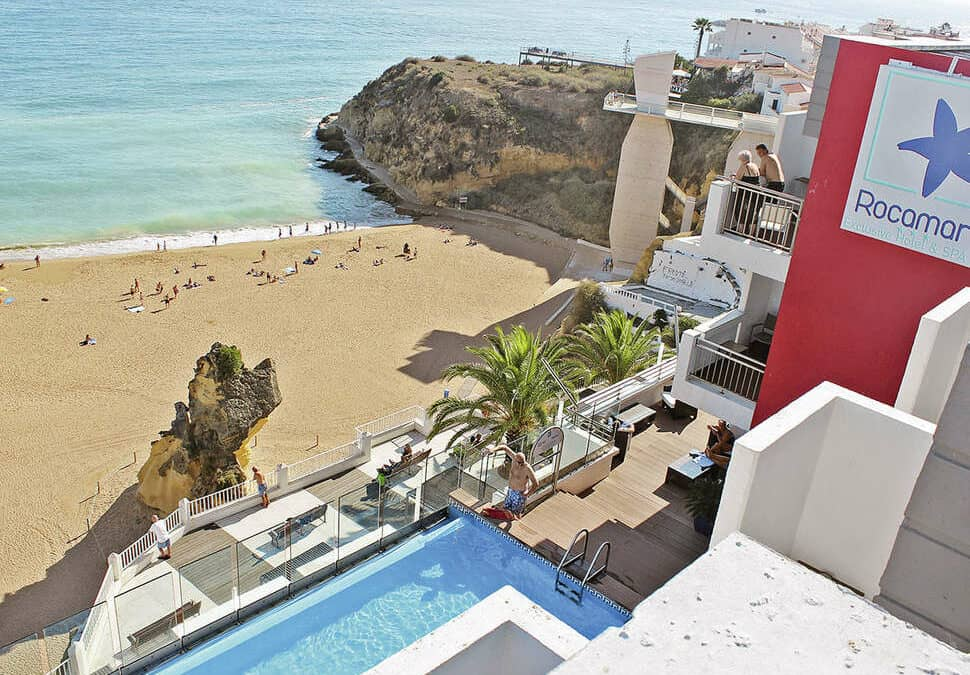Rocamar Exclusive Hotel & Spa in Albufeira, Algarve, Portugal