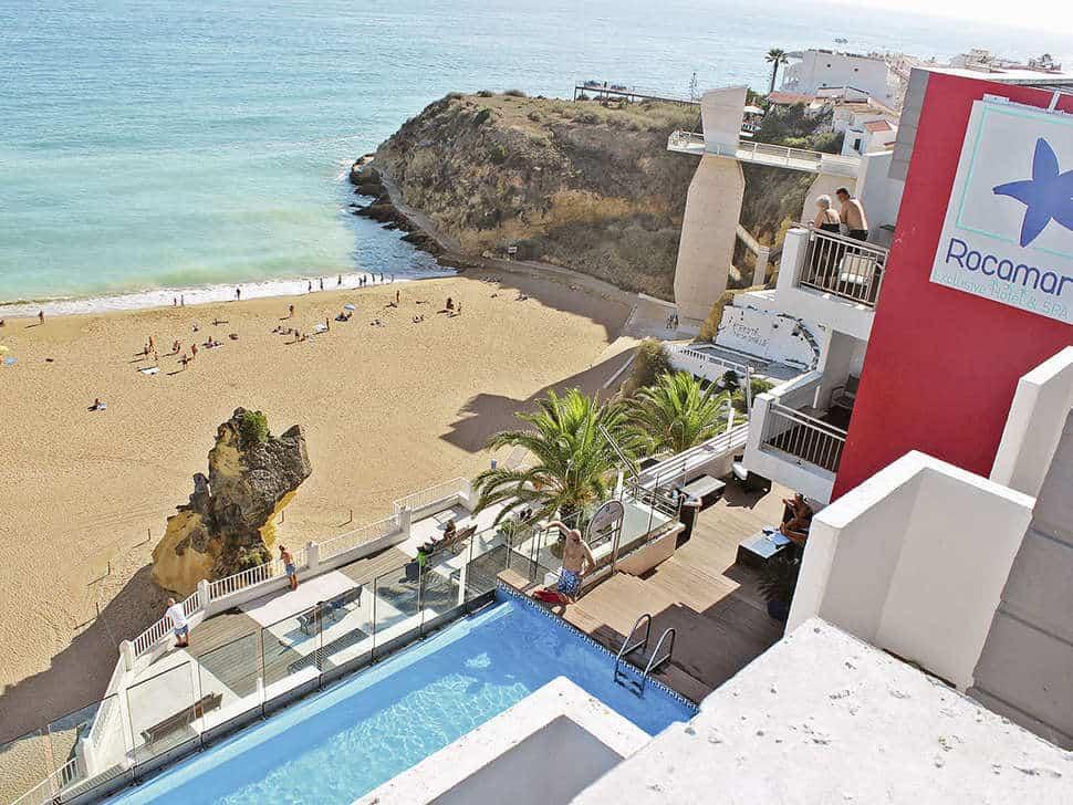 Rocamar Exclusive Hotel & Spa in Albufeira, Algarve, Portugal