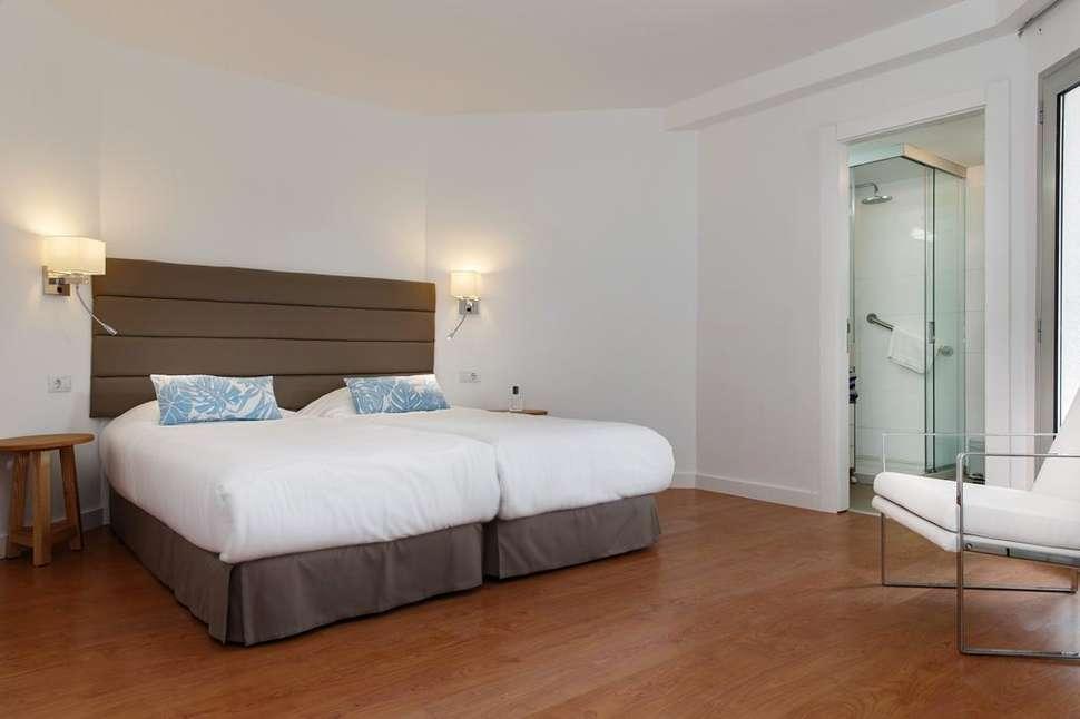 Slaapkamer van appartement van Time to Smile Terrazamar in Playa del Inglés, Gran Canaria, Spanje