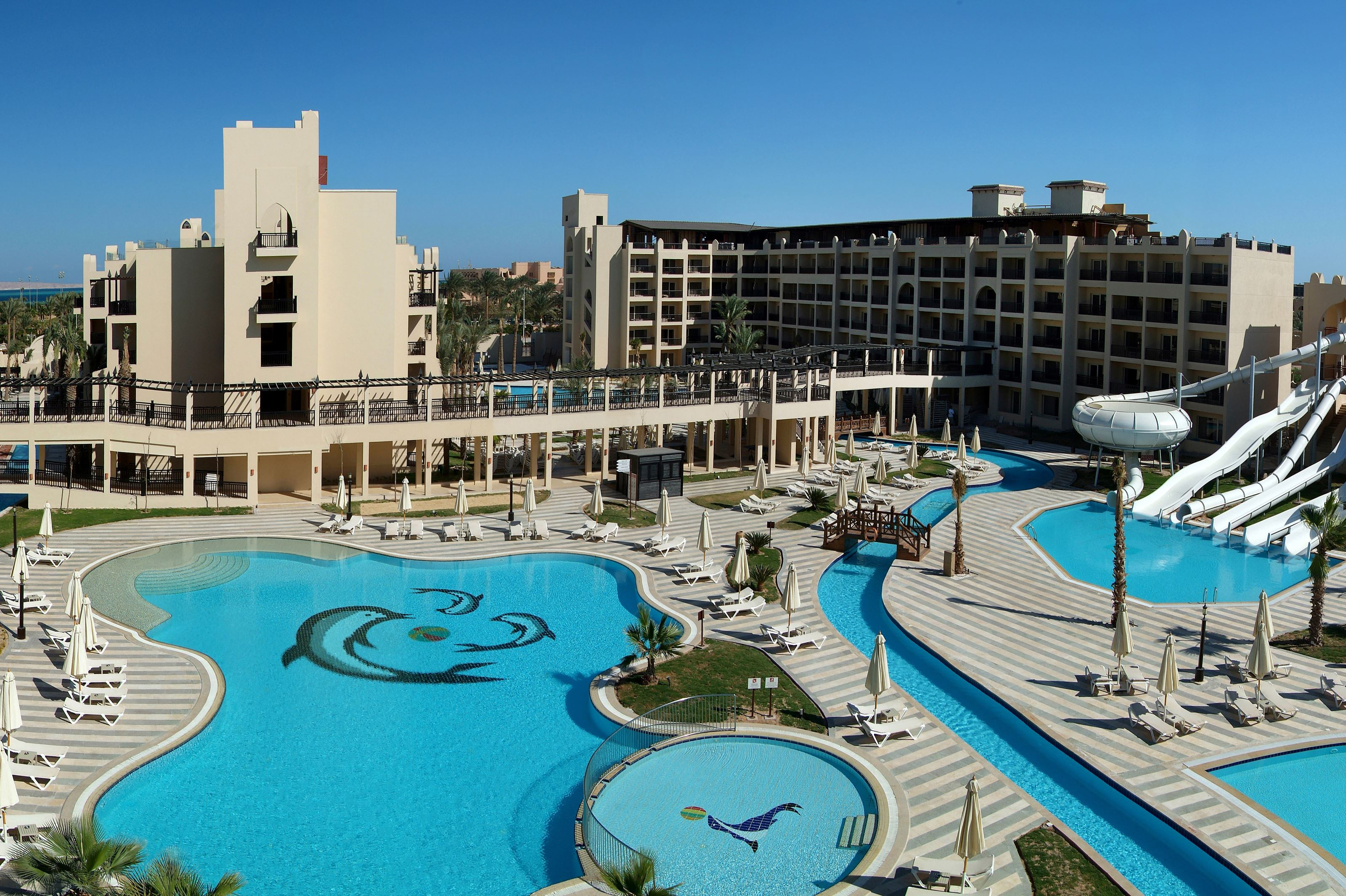 Steigenberger Aqua Magic in Hurghada, Rode Zee, Egypte