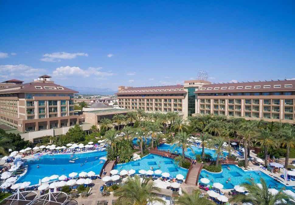 Sunis Kumkoy Beach Resort & Spa in Side, Turkse Rivièra, Turkije