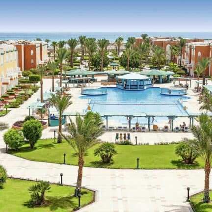 Sunrise Select Garden Beach Resort in Hurghada, Rode Zee, Egypte