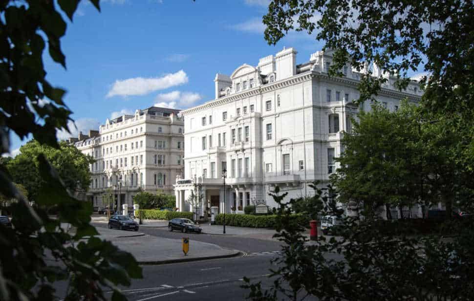 The Columbia Hotel in Londen, Engeland, Verenigd Koninkrijk