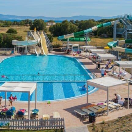 Waterpark van Kipriotis Village Resort in Psalidi, Kos, Griekenland