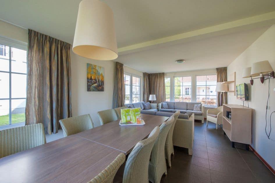 Woonkamer in villa van Roompot Ferienresort in Bad Bentheim, Nedersaksen, Duitsland