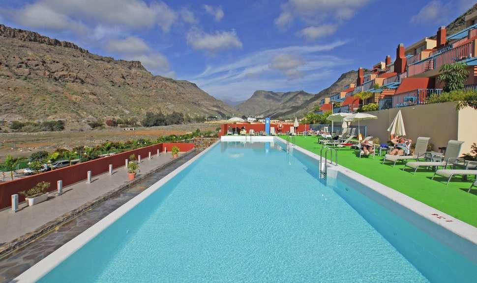 Zwembad van Cordial Mogan Valle in Puerto de Mogán, Gran Canaria, Spanje