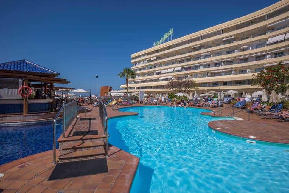 Zwembad van Hovima Santa Maria in Costa Adeje, Tenerife, Spanje