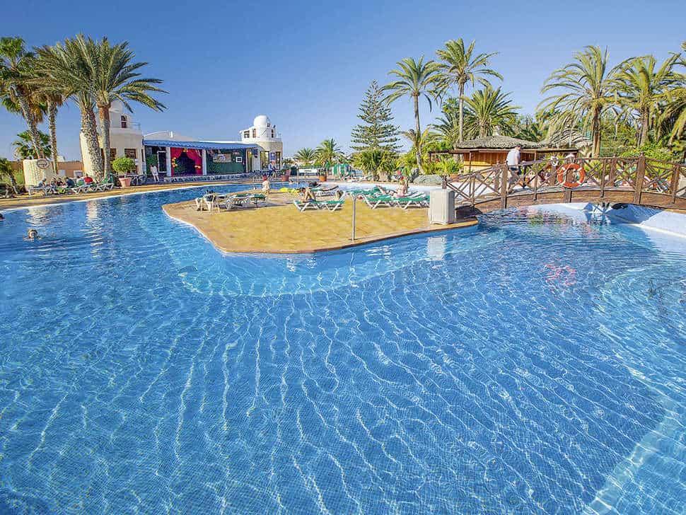 Zwembad van IFA Interclub Atlantic in San Agustín, Gran Canaria, Spanje