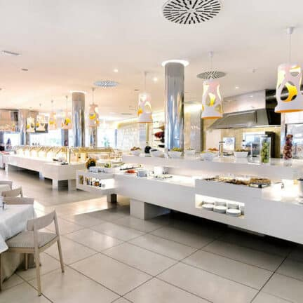 Buffetrestaurant van Bull Escorial & Spa in Playa del Inglés, Gran Canaria, Spanje