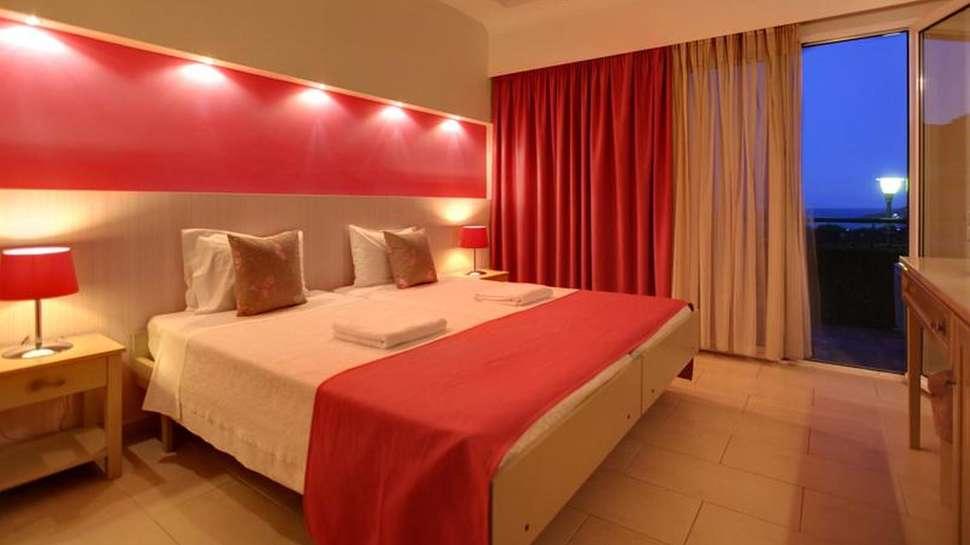 Hotelkamer van Sunrise Resort Hotel in Molyvos, Lesbos, Griekenland