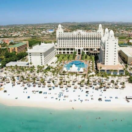 Ligging van Hotel Riu Palace Aruba in Palm Beach, Aruba, Aruba