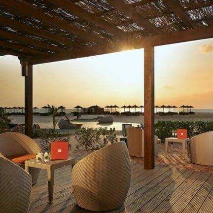 Ligging van Sol Dunas Resort in Santa Maria, Sal, Kaapverdië