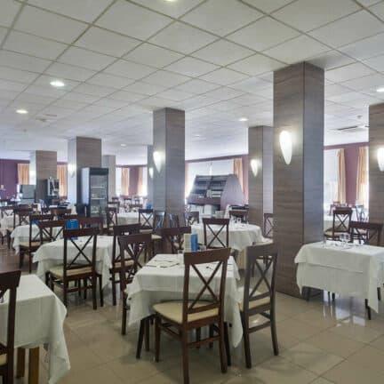 Restaurant van Best Siroco in Benalmádena, Costa del Sol, Spanje
