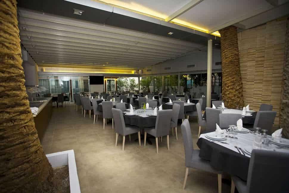 Restaurant van Hotel Astron in Ierápetra, Kreta, Griekenland