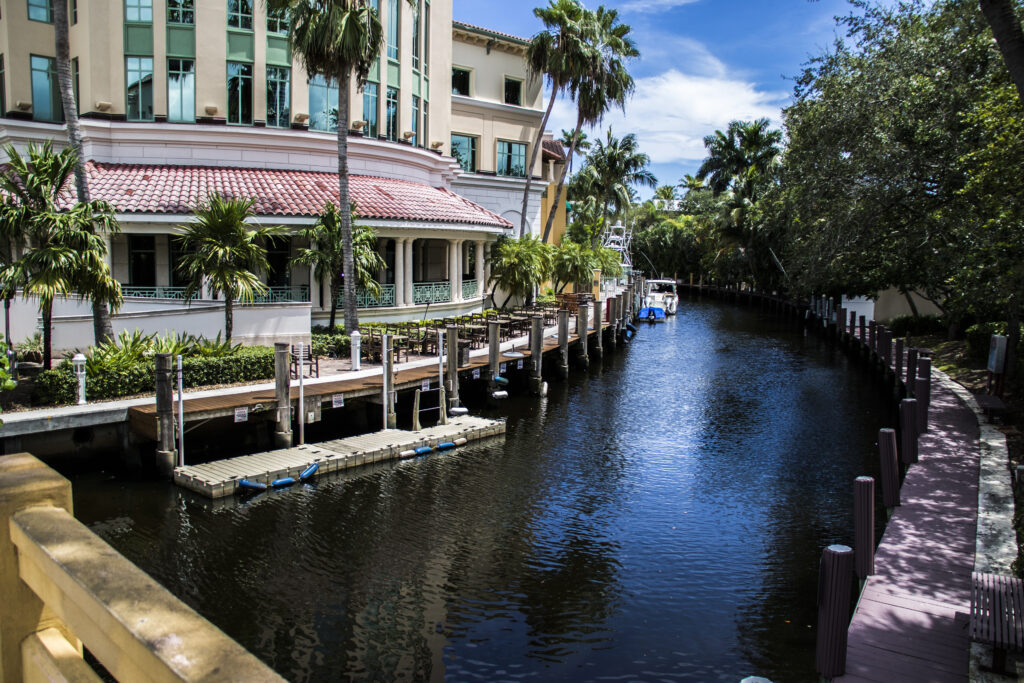 Rivier in Fort Lauderdale, Florida