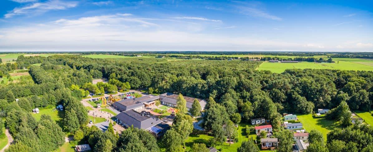 Roompot Bospark Lunsbergen in Borger, Drenthe, Nederland