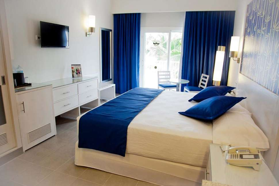 Hotelkamer van Riu Bambu in Punta Cana, San Juan, Dominicaanse Republiek