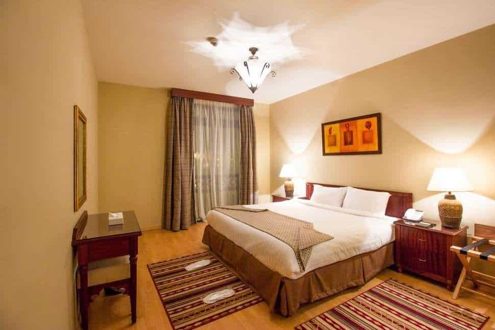 Hotelkamer van Sunrise Marina Resort in Marsa Alam, Rode Zee, Egypte