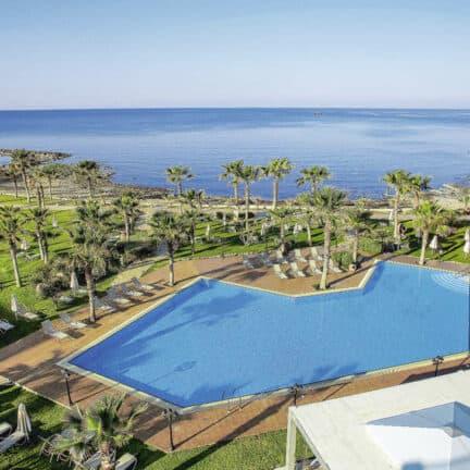 Ligging van Aquamare Beach Hotel & Spa in Paphos, Paphos, Cyprus