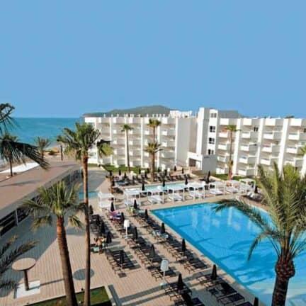 Ligging van Garbi Ibiza & Spa in Playa d'en Bossa, Ibiza, Spanje