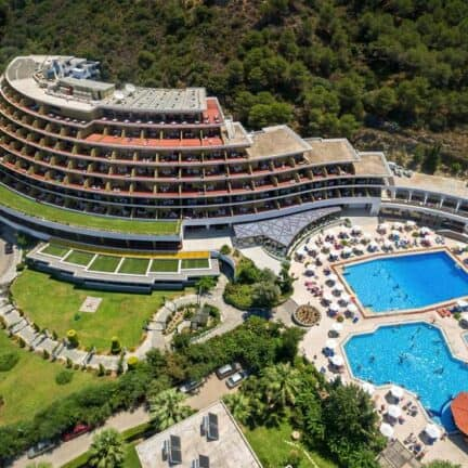 Olympic Palace Resort in Ixiá, Rhodos, Griekenland