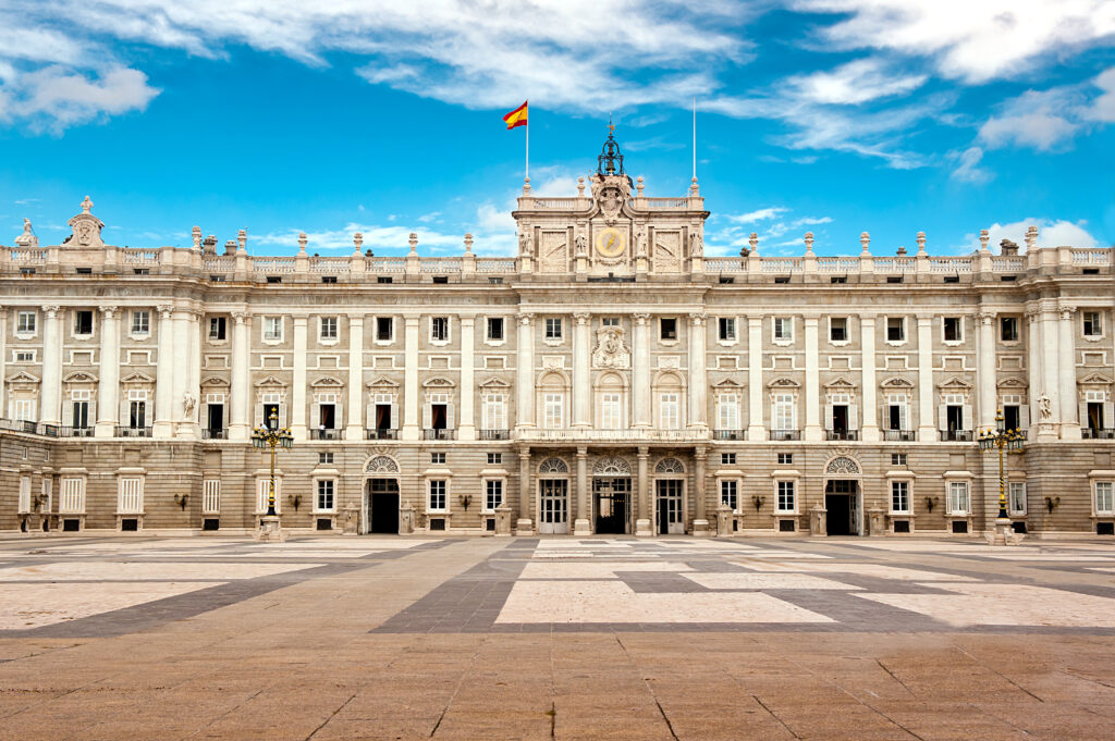 Palacio Real in Madrid, Spanje