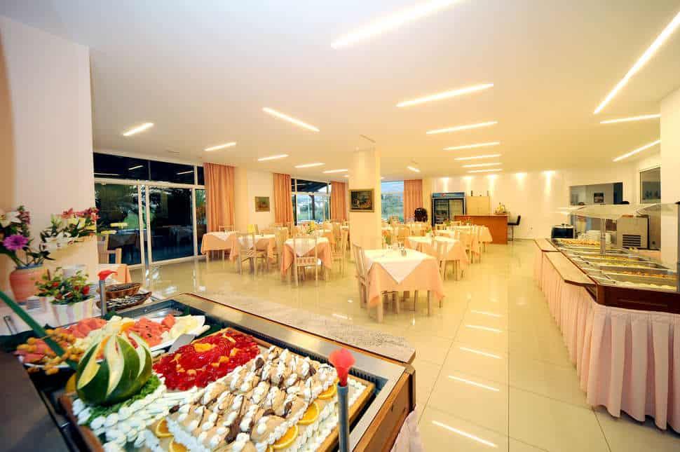 Restaurant van Palm Beach Hotel in Kos-Stad, Kos, Griekenland