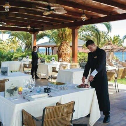 Restaurant van RIU Palace Tenerife in Costa Adeje, Tenerife, Spanje