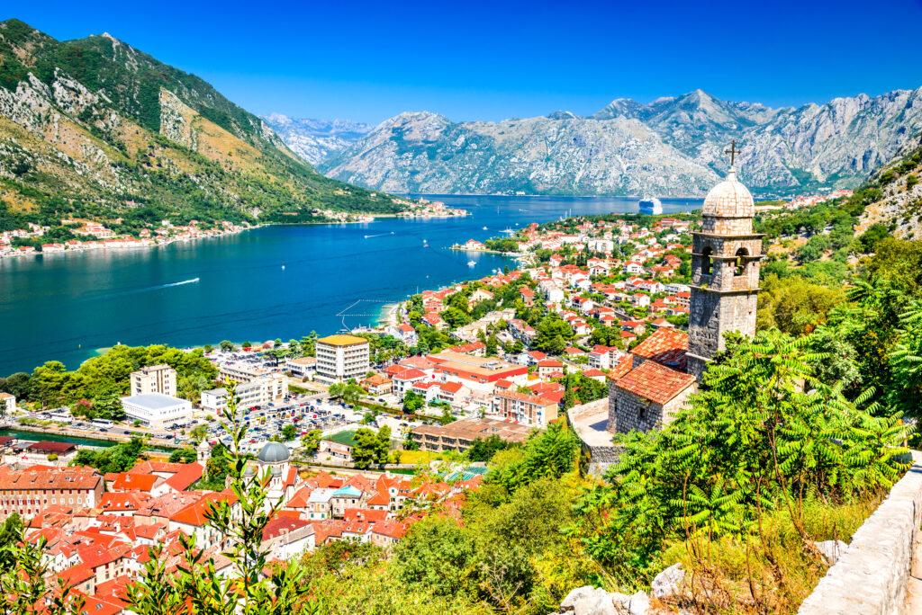 Uitzicht op Kotor in Montenegro