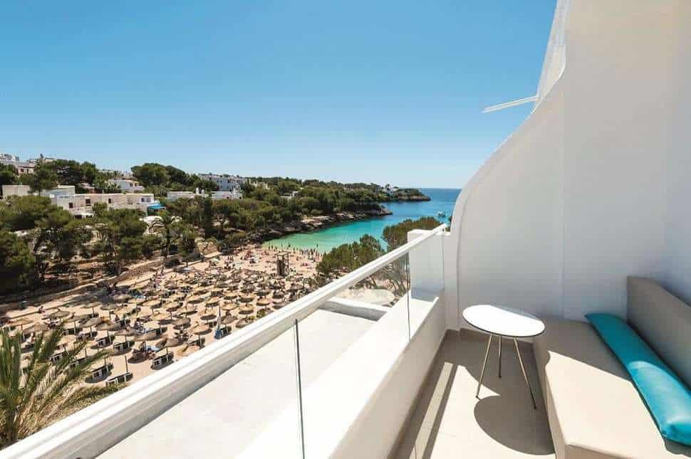 Uitzicht van TUI BLUE Rocador in Cala d'Or, Mallorca, Spanje
