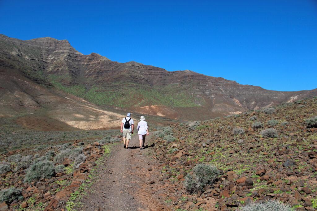 Wandelen bij Morro Jable op Fuerteventura