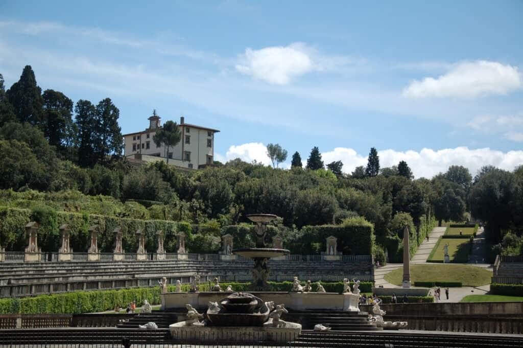 Tuinen van Giardino di Boboli
