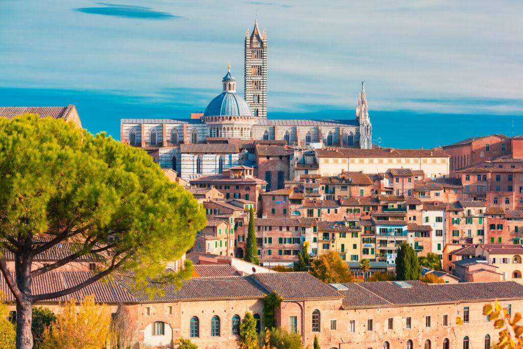 De kathedraal van Siena in Toscane, Italië