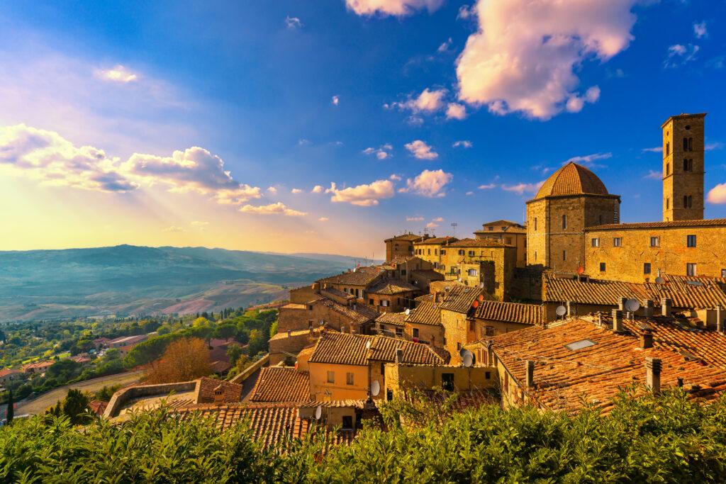 Uitzicht over Toscaans landschap
