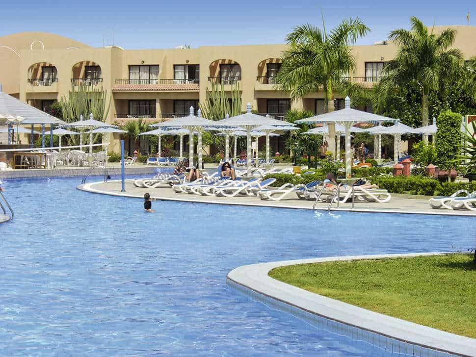 Aladdin Beach Resort in Hurghada, Rode Zee, Egypte