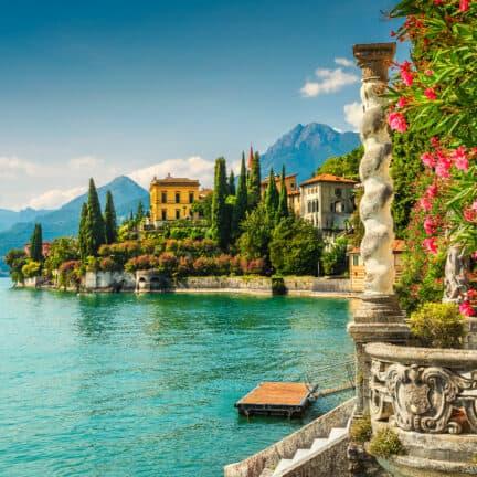 Comomeer in Italië