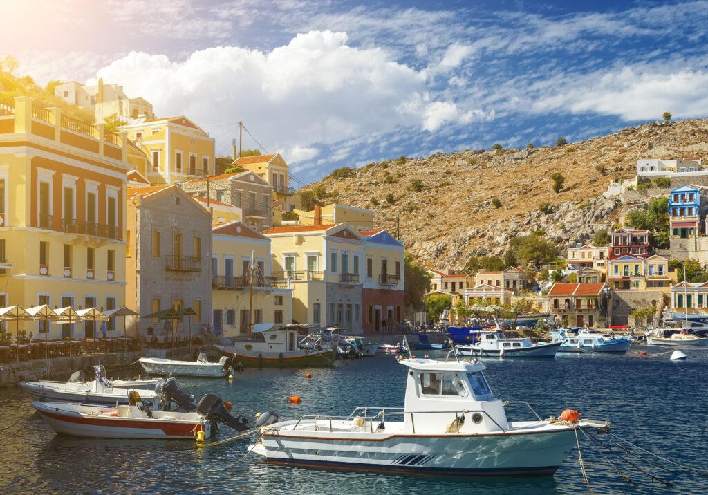 Corfu in Griekenland