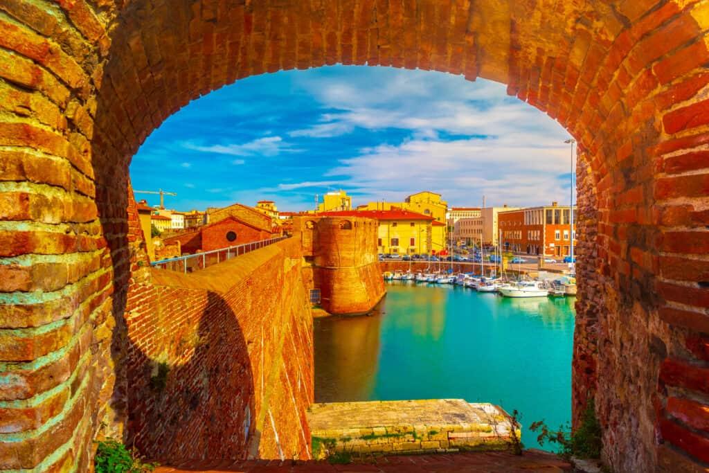 Fortezza Vecchia in Livorno, Italië