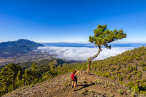 Foto maken op La Palma, Spanje