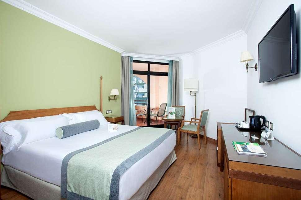 Hotelkamer van Fuerte Marbella in Marbella, Costa del Sol, Spanje