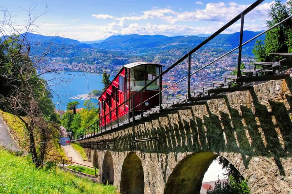 Kabelbaan van Lugano