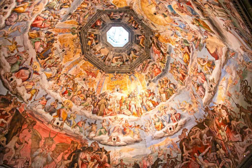 De koepel van de kathedraal van Florence