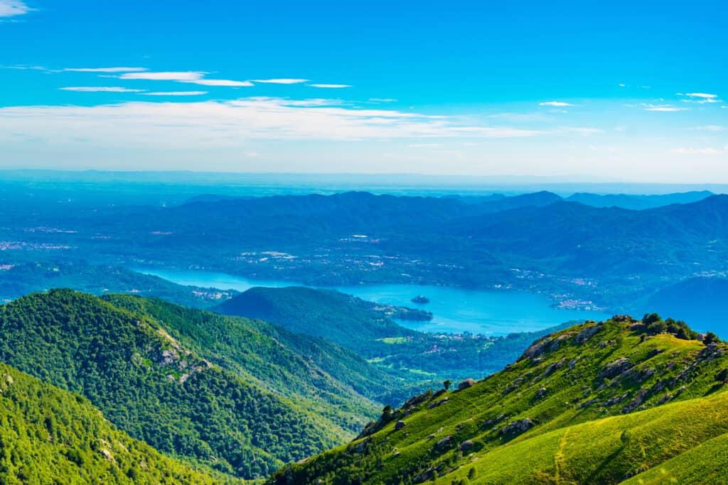 Italiaanse meren: het Lago d'Orta