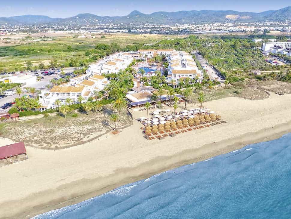Ligging van Fergus Style Bahamas in Playa d'en Bossa, Ibiza, Spanje