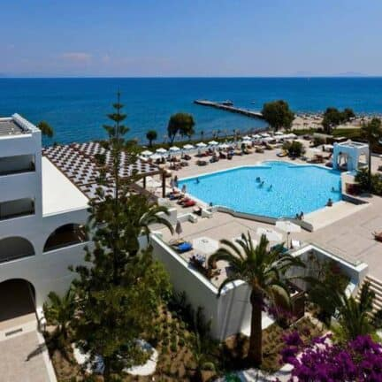 Ligging van Oceanis Beach & Spa Resort in Psalidi, Kos, Griekenland