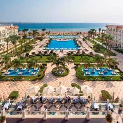 Ligging van Premier Le Reve Hotel & Spa in Hurghada, Rode Zee, Egypte